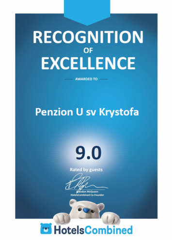 Recognition of Excellence by HotelsCombined